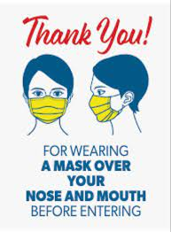2021 thank you mask