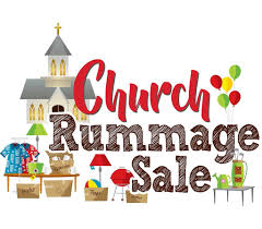 church rummage sale